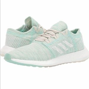Adidas PureBoost Go Running Shoes Clear Mint White